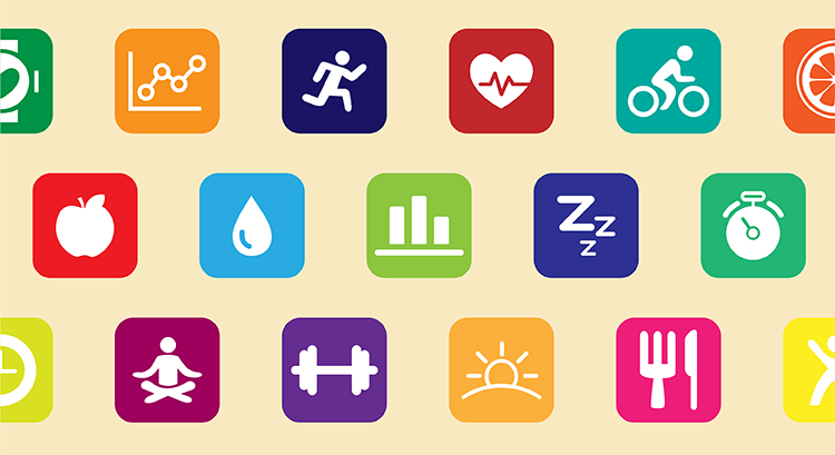 Tracking tween health through apps