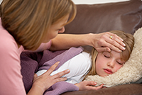 Parents struggle with when to keep sick kids home from school