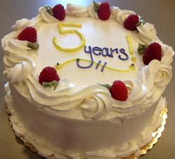 Five Years of NPCH Cake