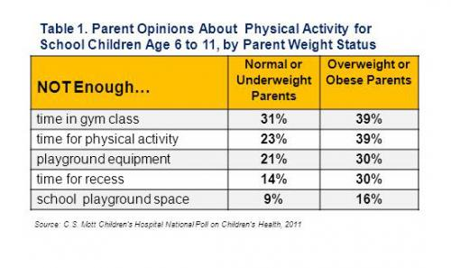 Kids and Gym Physical Activity Exercise