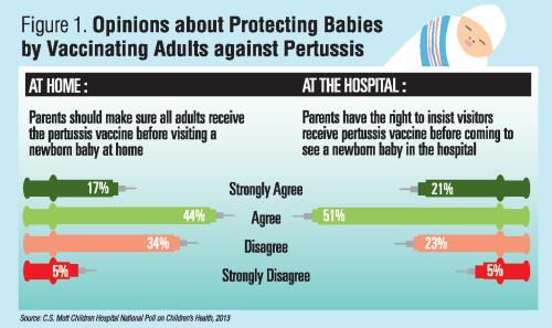 Opinions about Protecting Babies by Vaccinating Adults against Pertussis